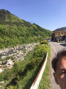 美しい木曽川と小生