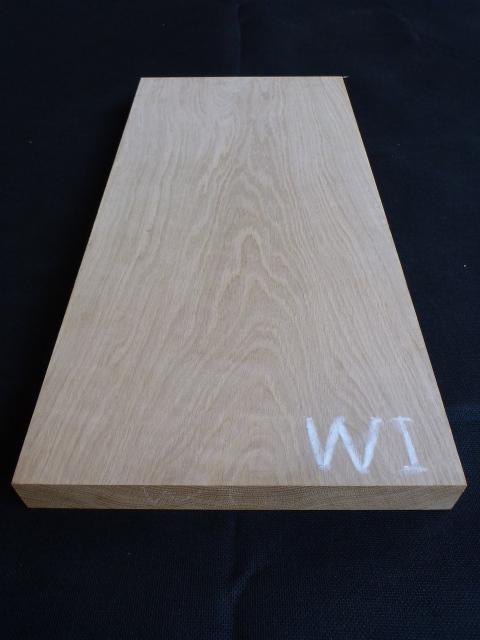 ホワイトオーク・ウィスコンシン産板目