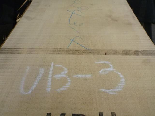 バスウッド 両耳付き 板目 UB-3