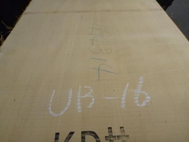 バスウッド 両耳付き 板目 UB-16