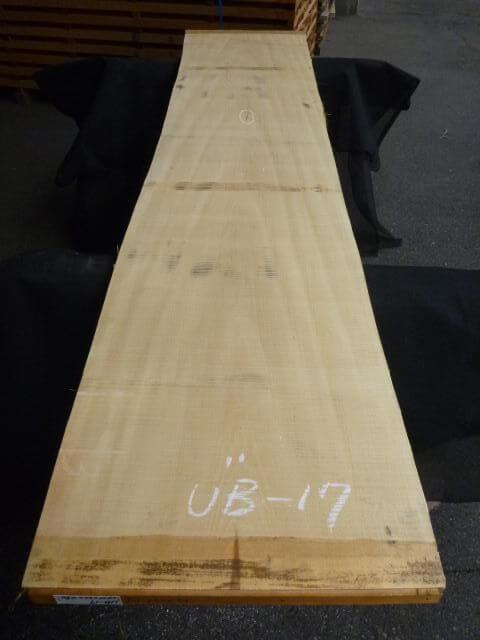 バスウッド 両耳付き 板目 UB-17
