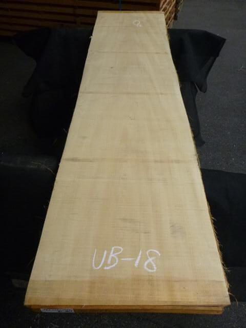 バスウッド 両耳付き 板目 UB-18