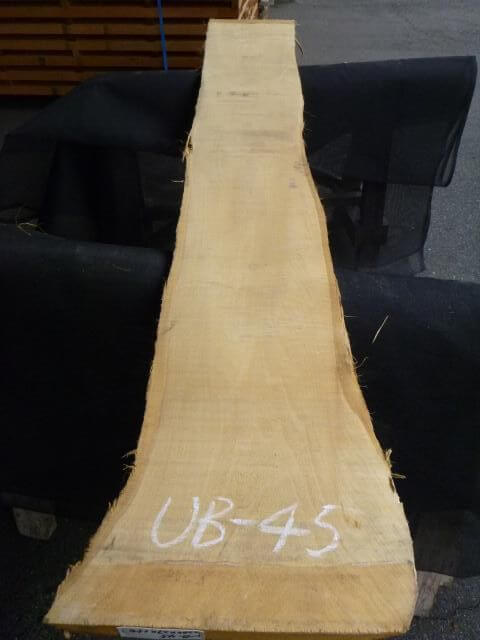バスウッド 両耳付き 板目 UB-45
