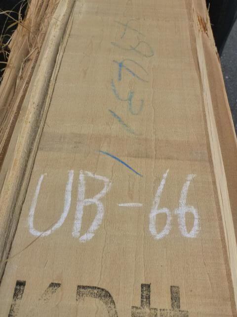 バスウッド 両耳付き 板目 UB-66
