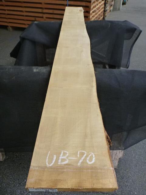 バスウッド 片耳付き 柾目 UB-70