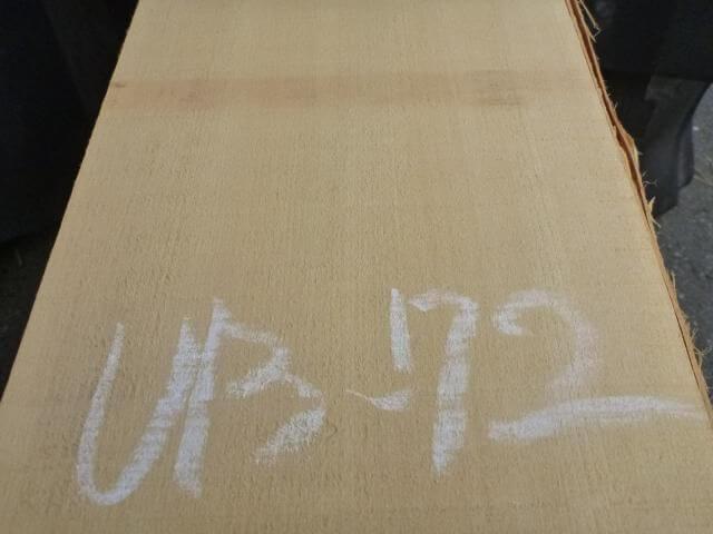 バスウッド 片耳付き 柾目 UB-72