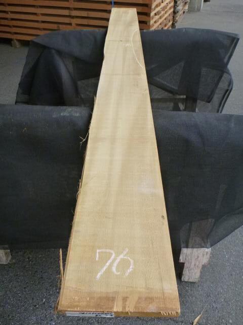 バスウッド 片耳付き 柾目 UB-76