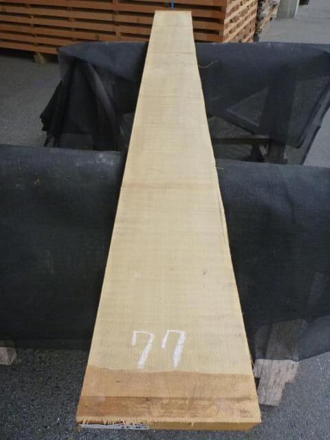 バスウッド 片耳付き 柾目 UB-77