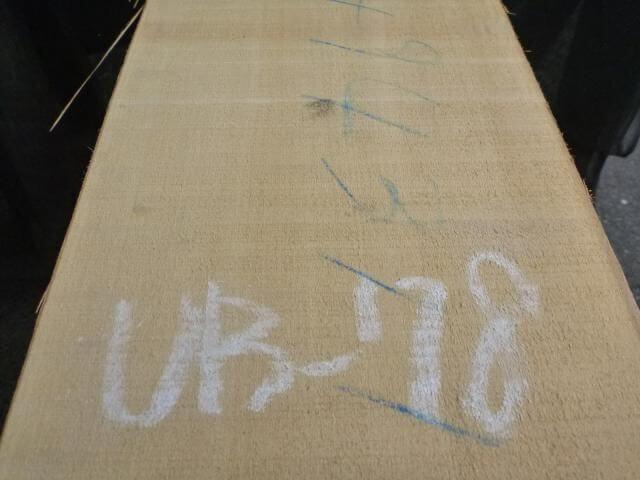 バスウッド 片耳付き 柾目 UB-78