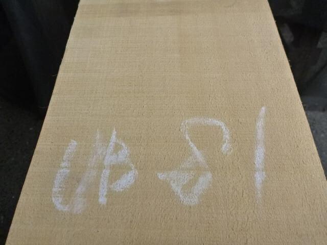 バスウッド 片耳付き 柾目 UB-81