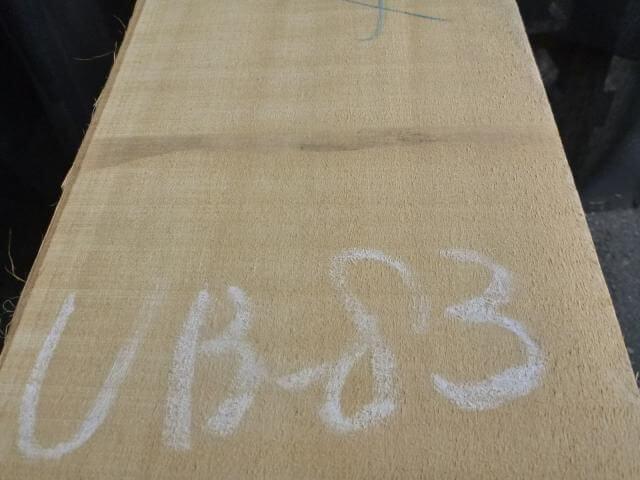 バスウッド 片耳付き 柾目 UB-83
