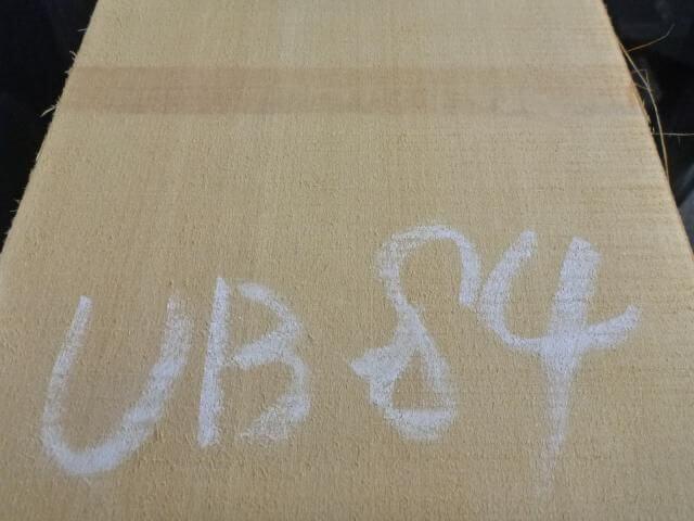 バスウッド 片耳付き 柾目 UB-84