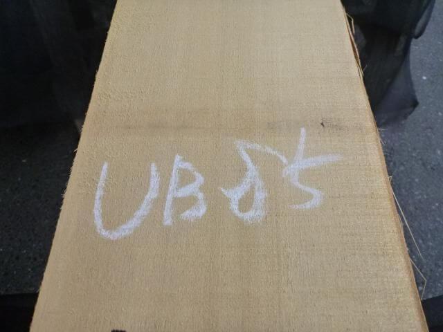バスウッド 片耳付き 柾目 UB-85