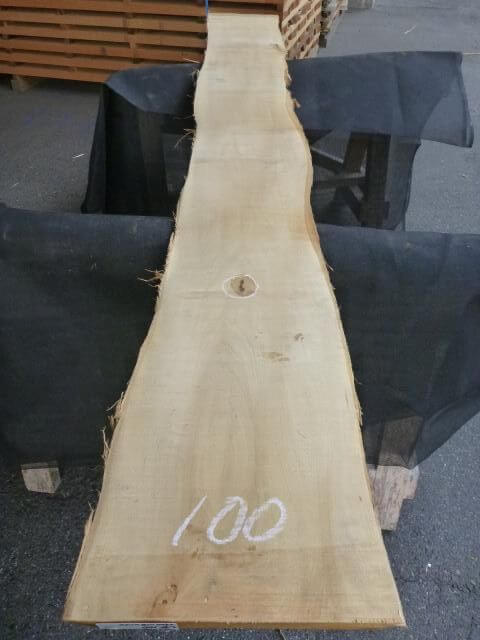 バスウッド 両耳付き 板目 UB-100