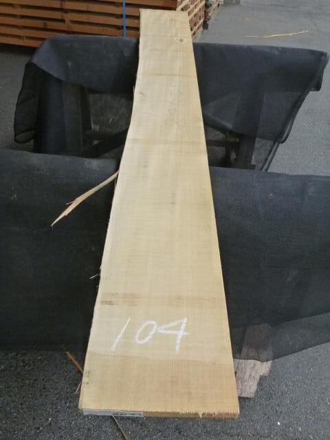 バスウッド 片耳付き 柾目 UB-104