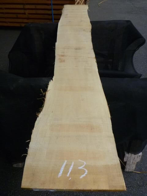 バスウッド 両耳付き 板目 UB-113