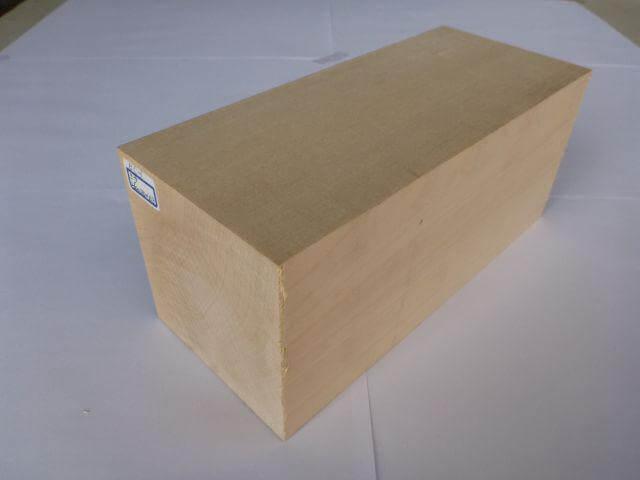 バードカービング 彫刻用 シナ材 BC-1