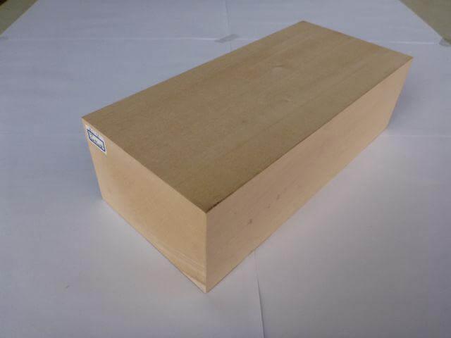 バードカービング 彫刻用 シナ材 BC-4