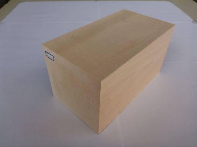バードカービング 彫刻用 シナ材 BC-6