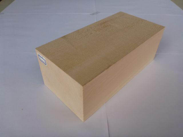バードカービング 彫刻用 シナ材 BC-8