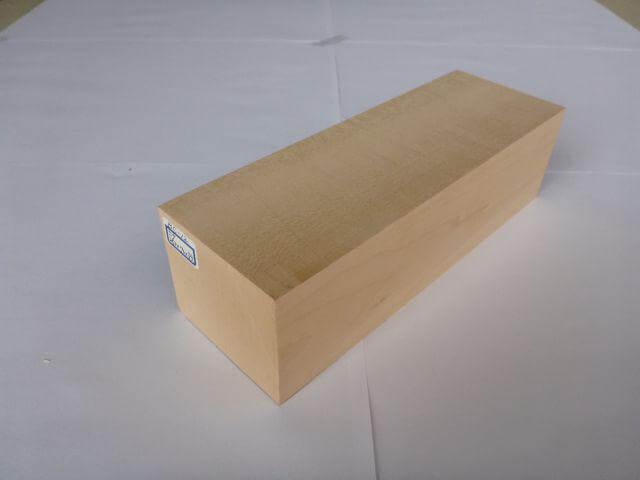 バードカービング 彫刻用 シナ材 BC-12