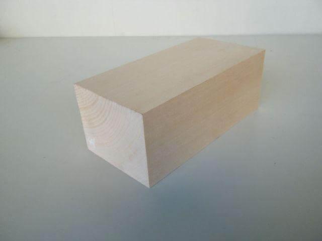 バードカービング 彫刻用 シナ材 BC-13
