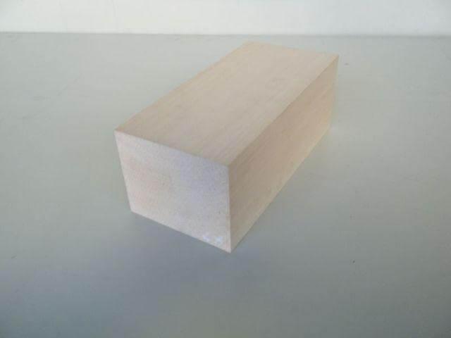 バードカービング 彫刻用 シナ材 BC-15