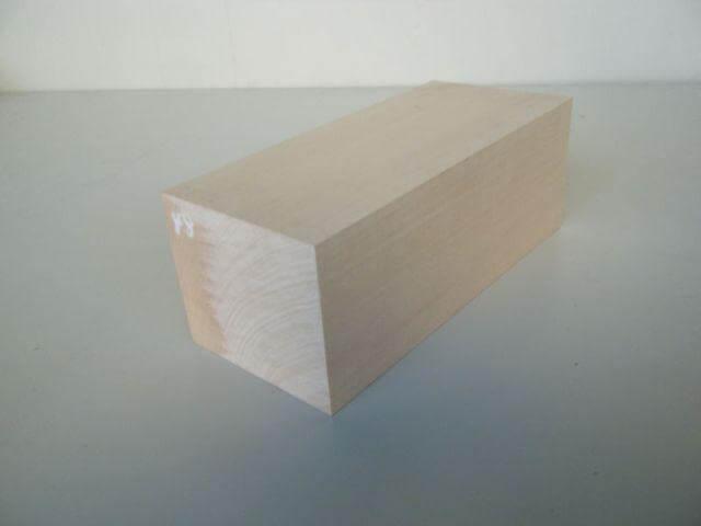 バードカービング 彫刻用 シナ材 BC-18