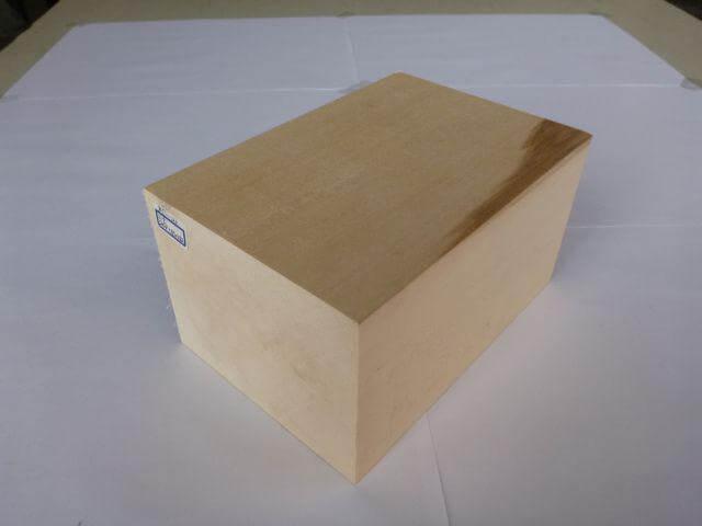 バードカービング 彫刻用 シナ材 BC-23