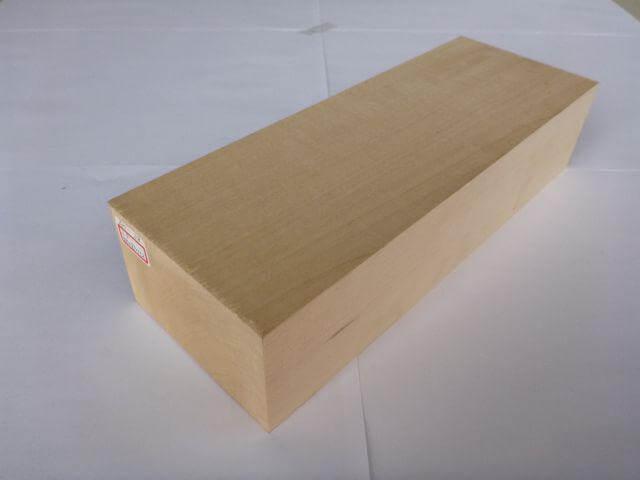 バードカービング 彫刻用 シナ材 BC-38