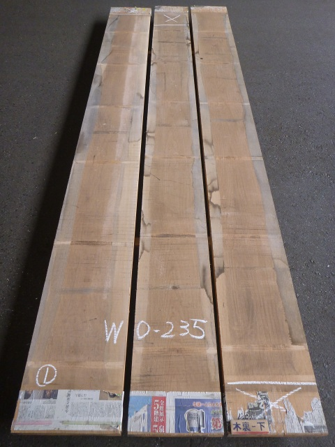ホワイトオーク 34 板目 国内挽き 自家工場製材