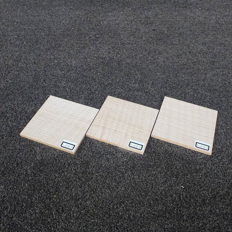 コースター・木台用木材