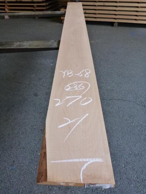 ヨーロッパビーチ 板 プレナー仕上げ YB-68