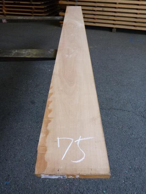 ヨーロッパビーチ 板 プレナー仕上げ YB-75