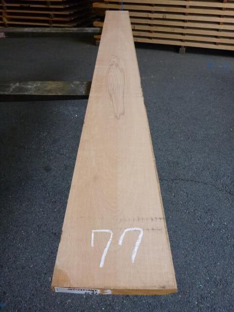 ヨーロッパビーチ 板 プレナー仕上げ YB-77