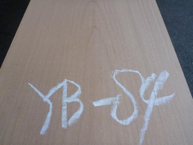 ヨーロッパビーチ 板 プレナー仕上げ YB-84