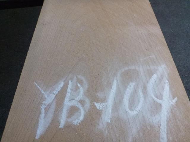 ヨーロッパビーチ 板 プレナー仕上げ YB-104