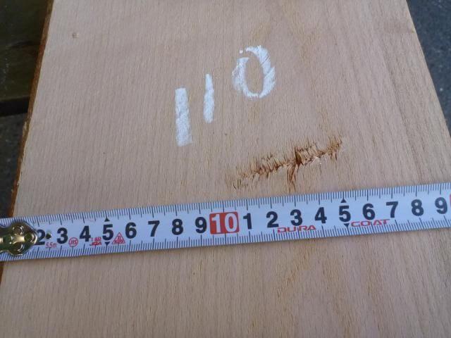 ヨーロッパビーチ 板 プレナー仕上げ YB-110