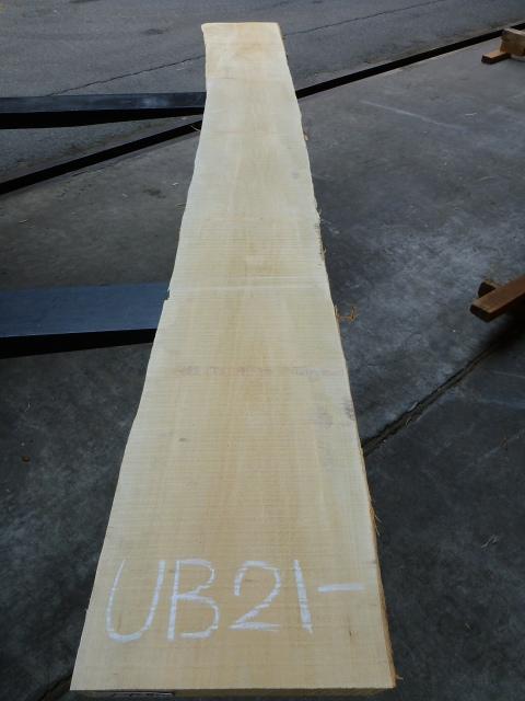 バスウッド 21ミリ 板目・柾目