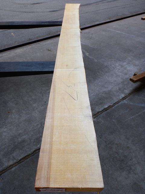 バスウッド 34ミリ 板目・柾目
