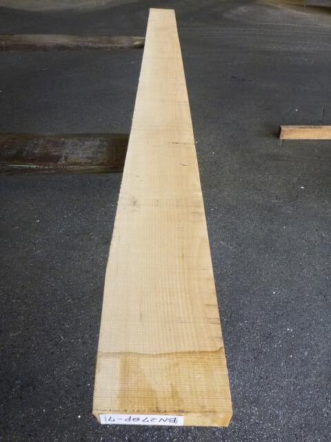 ブナ 34ミリ 平板 板目 自家工場製材
