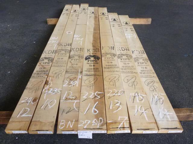 ブナ 27ミリ 平板 柾目 自家工場製材