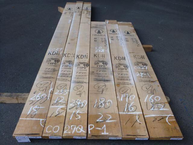 チェスナットオーク 27ミリ 柾目