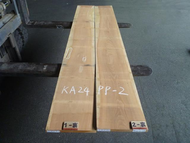 カツラ 24ミリ 板目板