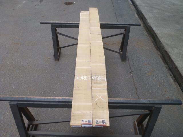 クリ 27ミリ 柾目板