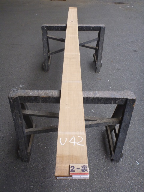 クルミ 42ミリ 柾目