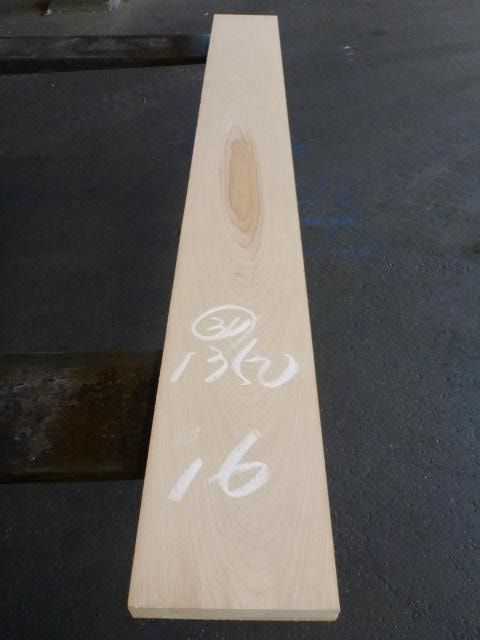 マカバ30ミリ 60番サンダー仕上げ 平板 板目柾目込み