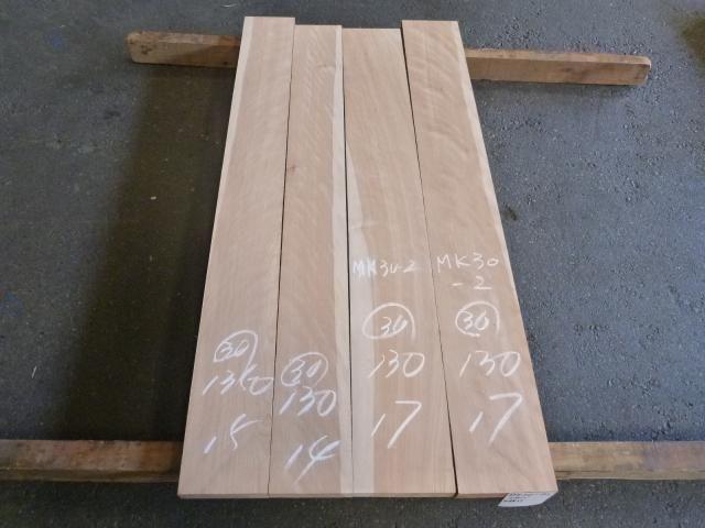 マカバ 30ミリ 60番サンダー仕上げ 平板 板目柾目