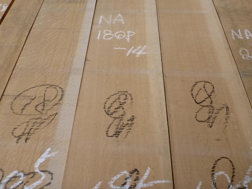 ナラ 18ミリ 薄板