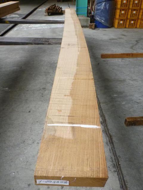 ノーザン・レッドオーク 45mm 柾目 自家工場製材